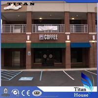 Modern Design Prefabricated Coffee Shops of Quality