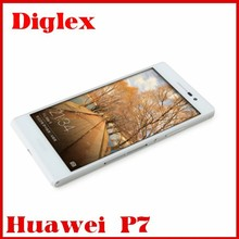 New cell phone huawei Ascend P7 Android 4.4 smartphone Hisilicon Kirin 910T, quad core, 1.8GHz 4g lte 2GB+16GB Russian Spanish L