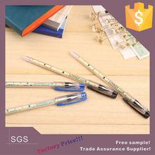needle point erasable pen plastic stationery