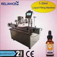 R-VF-E 15ml 30ml e-liquid glass dropper pipette bottle filling capping machine