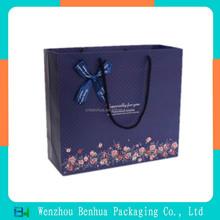 Custom Made Shopping Paper Bag With Drawstring