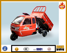 Popular hydralic cargo tricycle cabin cargo tricycle three wheeler for Asia and Africa