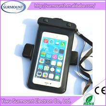 PVC Phone Waterproof bag Arm Band Mobile Phone PVC Waterproof Case