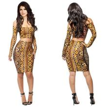 Walson lady sexy bandageNKM099 aaaNKM099 Durable Latest Two Piece Girls Party Dresses