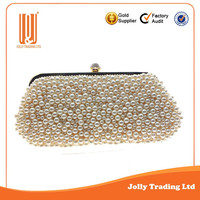 Best newest shining golden beautiful ladies party purse