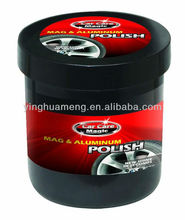 car care magic polish for non- coated magnesium & aluminum wheels