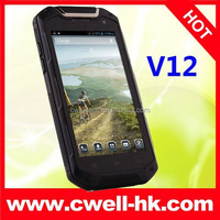 Best Quality Lamborghini V12 IP67 Waterproof Rugged Smartphone 4.5 Inch Screen Shockproof Smart Mobile Cell Phone Cellphone