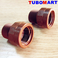 china supplier plastic fitting Nipple socket pph fitting for hot water pipe system