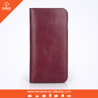 New Arrival Factory Wholesale Phone Leather Cases for iPhone 6 Plus