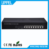 10/100/1000Mbps Switch with 8 ports POE Network Switch Unmanaged Network Switch