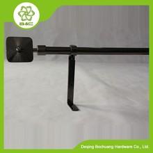 china wholesales iron curtain rod ,metal curtain pole ,round curtain finial