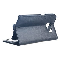 Two mobile phones leather case with card slots