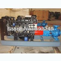 """100KW 1600m3/h 17m fire fighting swage Self Priming centrifug 8"""" by 8"""" 8 inch diesel water pump for agricultural farm irrigation"""
