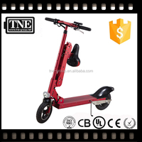 2 year warranty OEM factory lithium battery adult folding two wheel kid electric scooter with seat for sale