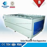 Manufacturer machines poly crystalline silicon solar module testing machine