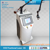 2014 pigmentation and pore spot size portable fractional co2 laser device