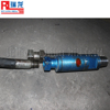 Water swivel connect drill rod and drill rig