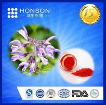 98% Tanshinone IIA Dan Shen powder / Red sage Root p.e / chinese salvia extract