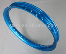 Stable Performance Blue 36 Hole 18 inch Motorcycle Alloy Wheels Rim H 18x2.15