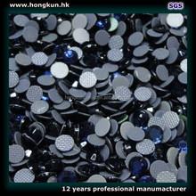 HONGKUN Environmental protection Black Korea Rhinestone HOT FIX