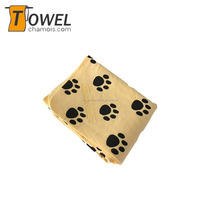 Pet cleaning grooming products body drying pet pva towel