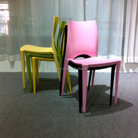 Cheap restaurant plastic chairs for sale used, HYX-201