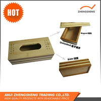 New design cheap price bamboo cosmetic box packaging