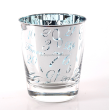 Fancy design print shot glass Drinking glass for promotion gifts Glassware