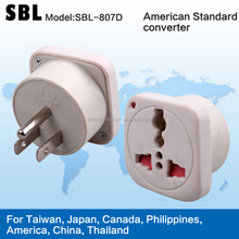 American standard converters,High quality conversion socket,The adapter plugs