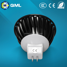Hot Sale COB Light LED GU10 MR16 with warm white and cool white