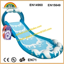 Inflatable water slip,small inflatable water slide