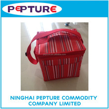 Good quality insulated zippered cooler bag fitness thermal lunch bag