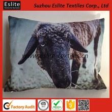 Animal Digital Print Cushion With Pillow