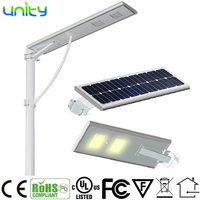 Solar Led Street Light 60W LED Street Light Price List, All in One Solar Street Light