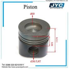 Diesel engine spare parts YC6108G Forged piston prices