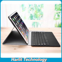Keyboard Case Bluetooth For iPad Pro Leather Cover With Detachable Bluetooth Keyboard For iPad Pro 12.9