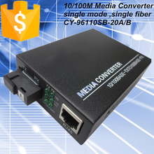 Long Range Ethernet optical media converter 96110SB-20A/B