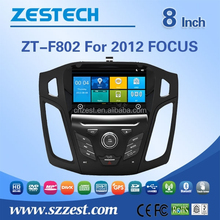 auto steering wheel For FORD 2012 Focus touch screen car gps player for Focus 2012 with bluetooth radio 3g internet