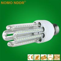 China Yiwu factory price E27 24w CFL high bright LED 4U Light lamp bulbs