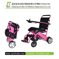 Small volume best power folding electric wheelchair