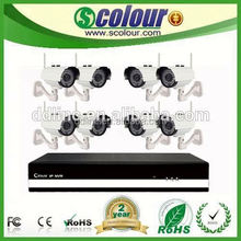 8 CH wifi free ddns wireless bluetooth parking camera system system