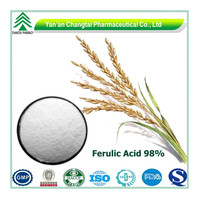 BV Certificated GMP rice branextract high quality natural ferulic acid