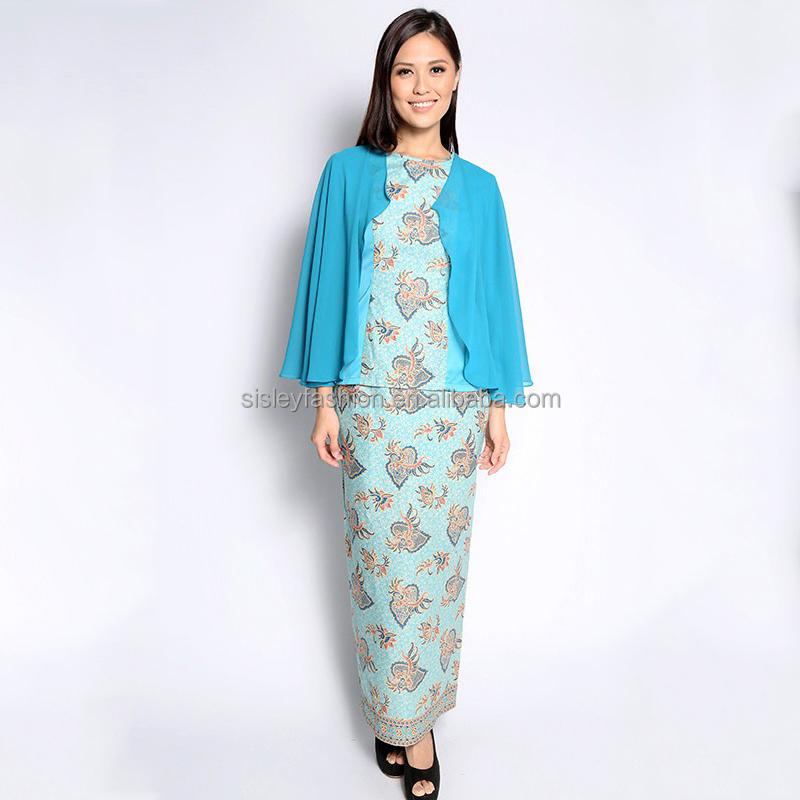 ... traditional dress floral baju kurung round neck kaftans fashion jubah