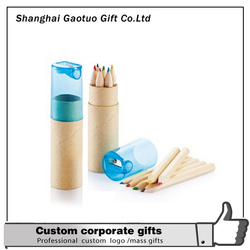 Design Cheap Natural Wood Color Pencil
