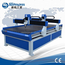 Long time mass processing 2d and 3d double gantry advertising cnc machine SM1224 for relief engrave