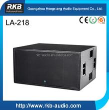 LA-218/Dual 18 inch long-throw Pro audio subwoofer