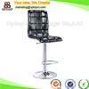 (SP-HBC401) Wholesale backrest leather kitchen furniture stools