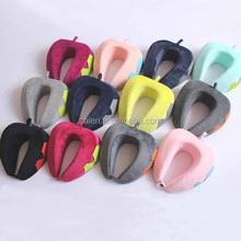 Patent innovative design neck rest airplane travel pillow in China