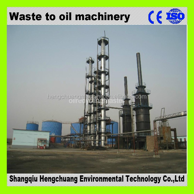 The Newest Generation Continuous Used Motor Oil Recycling Plant With 85 Diesel Oil Output Buy