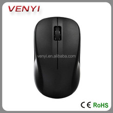 2015 latest Cheap Promotional accessory 2.4G computer mouse wireless transparent
